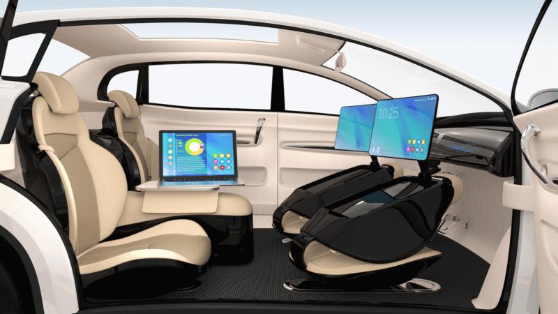 El coche autónomo será una potente plataforma publicitaria