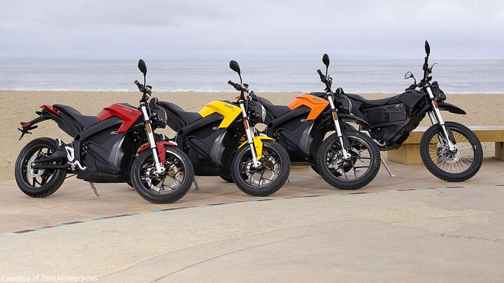 Modelos Zero motorcycle