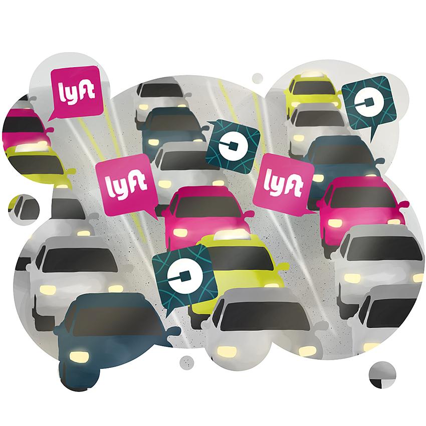 Los servicios ride-hilaing le gana la batalla al car-sharing (de momento)