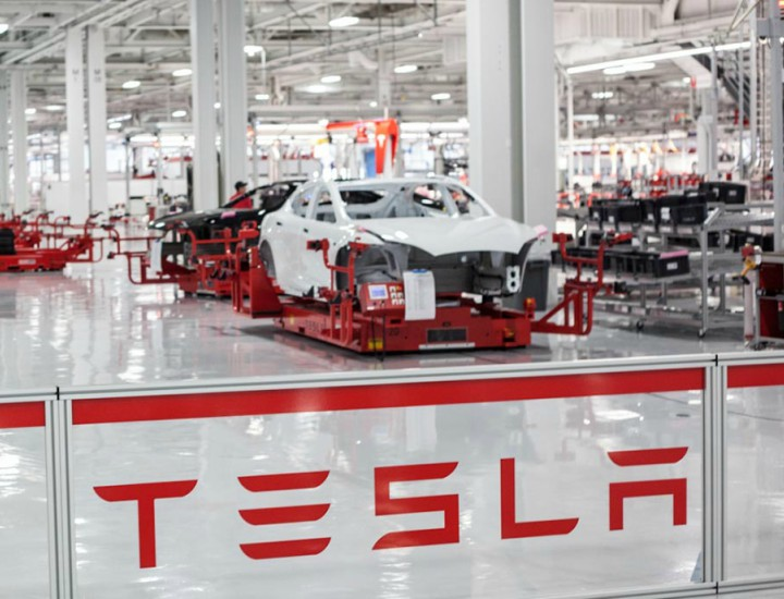 Tesla no fabrica coches