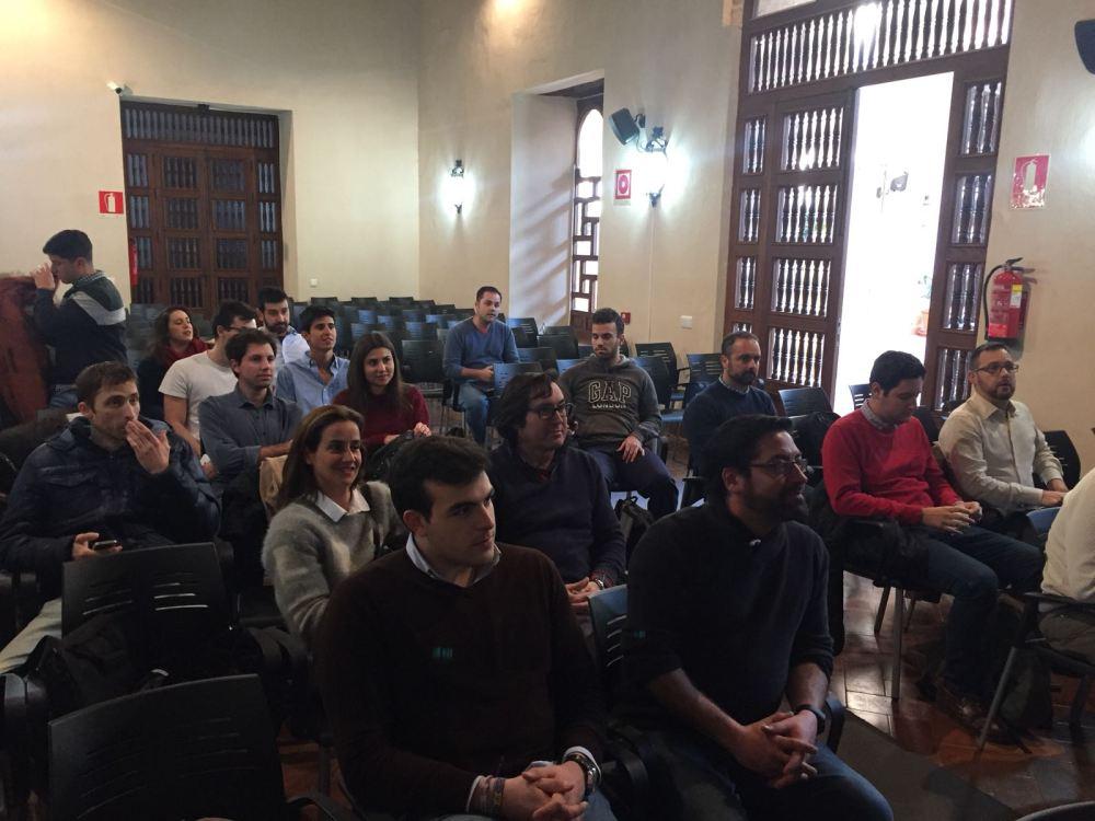 evento de formación de equipos HUB Ventures