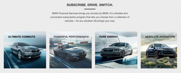 Suscripciones mensuales, una alternativa (cada vez más real) al vehículo en propiedad
