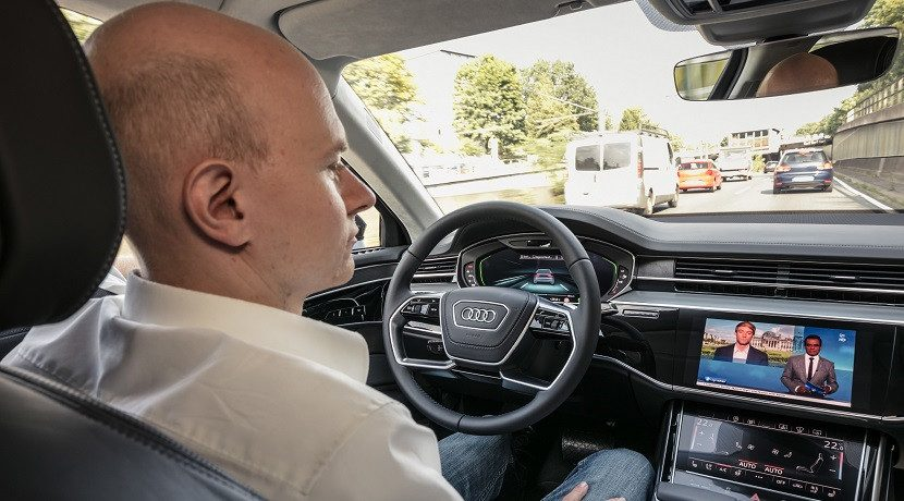 Audi traffic control
