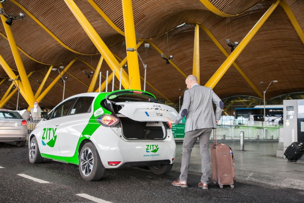 ZITY se alía con Valeet para llevar su carsharing hasta el aeropuerto de Madrid